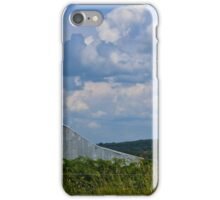 Land, and Sky, Barn In NW Arkansas iPhone Case/Skin