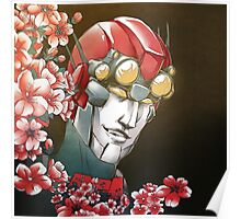 Floral Mnemosurgeon Poster