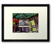 Mercury's Bar Framed Print