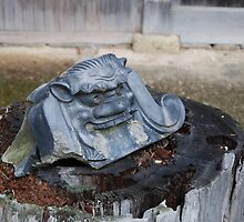 Japanese religious idol by chobephotos