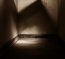 Old Shadow in an empty room by theblackfatcat