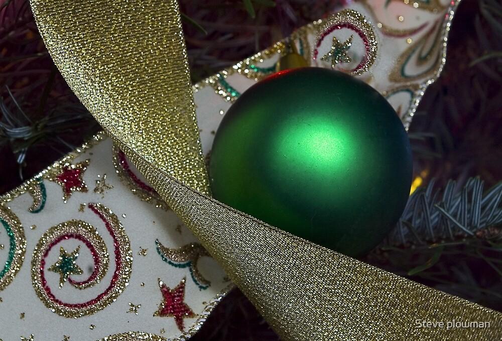Christmas decoration by Steve plowman
