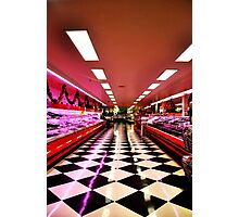 The Meat Isle Photographic Print