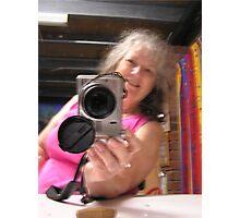 Self Portrait Smiling Photographic Print