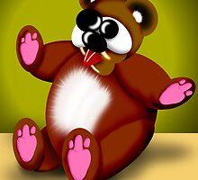 Cross Eyed Bear by GolemAura