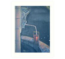 Well Drinks  Art Print