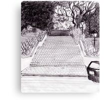 On the way to fort canning hill Canvas Print