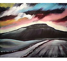 'Winter Dawn - Penyghent' Photographic Print
