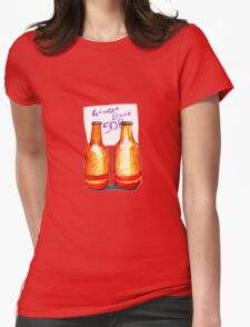 Ginger Beer Womens Fitted T-Shirt