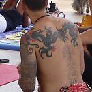 Dragon Back by Danceintherain