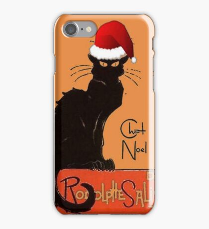 Le Chat Noel iPhone Case/Skin