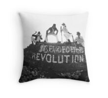 Clockwork Revolution Throw Pillow