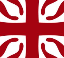 calatravas cross Sticker