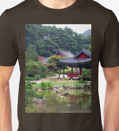 an inspiring South Korea landscape Unisex T-Shirt