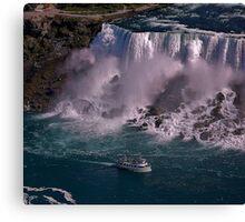 Wow, Niagara Canvas Print