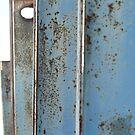Blue Poles by Joan Wild