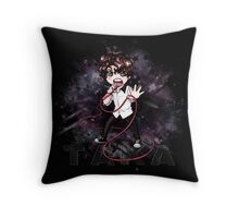 Chibi Taka (bag/pillow black) Throw Pillow