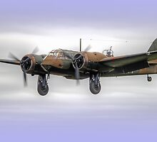 Bristol Blenheim On Finals - 2 by Colin  Williams Photography