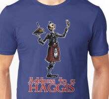 Address to a Haggis Unisex T-Shirt