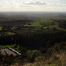 View from the White Horse of Kilburn, North Yorkshire by tonymm6491