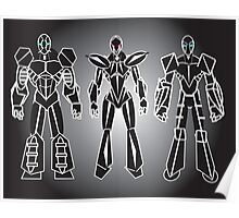 ROBOT CHARACTERS Poster