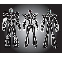 ROBOT CHARACTERS Photographic Print