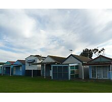 Beach Houses, Campbells Cove Photographic Print