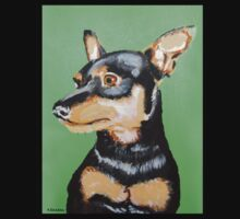 Pulga Dog - Doberman Pinscher by Alejandro Cuadra