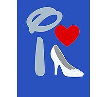I Heart Cinderella Photographic Print