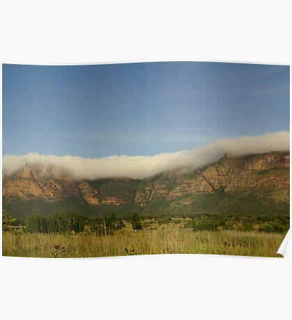 Covered - The Waterberg Mountains Poster