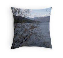 Loch Katrine, The Trossachs Throw Pillow