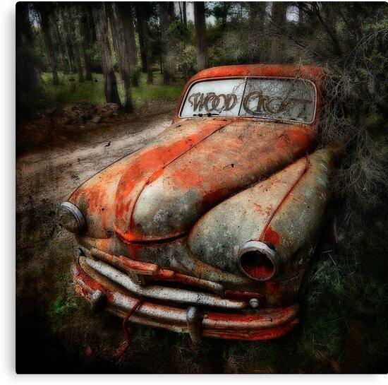 Death of a car -RIP- by Manfred Belau