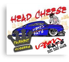 HEAD CHEESE Canvas Print