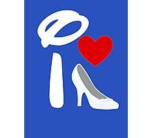 I Heart Cinderella (Inverted) Photographic Print