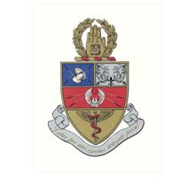Snarkiteer Coat of Arms Art Print