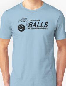 Balls Bowling Funny TShirt Epic T-shirt Humor Tees Cool Tee Unisex T-Shirt