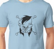 Make your skull manlier.. with external sideburns Unisex T-Shirt
