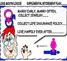 LOUD MOUTH LOUISE...RETIREMENT PLAN by URBANRATS