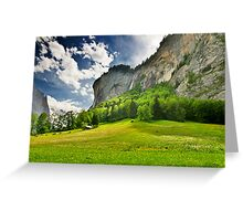 Swiss Valley Greeting Card