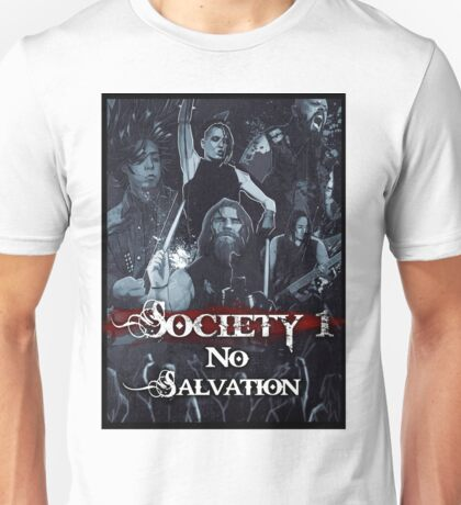 No Salvation Poster (Society 1 Inspired Comic) Unisex T-Shirt