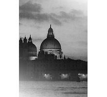 Nightime Venice II Photographic Print