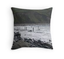 The Sea in Kerry Throw Pillow