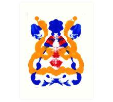 Geisha Abstract Art Print