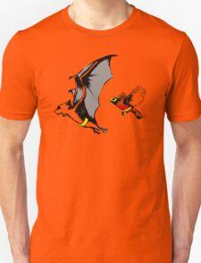 Bat And Robin Funny TShirt Epic T-shirt Humor Tees Cool Tee Unisex T-Shirt