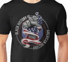 Black History is American History (Red, White, Blue) Unisex T-Shirt