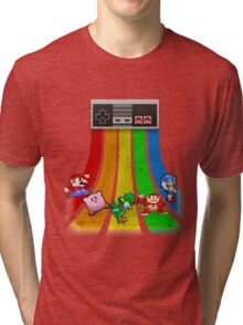 Retro Gaming Series Tri-blend T-Shirt