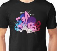 Ryūko and Satsuki with Garterbelt Unisex T-Shirt