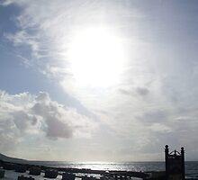 Cloudy sun in Kerry. by Annie Gannon