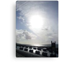 Cloudy sun in Kerry. Canvas Print