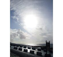 Cloudy sun in Kerry. Photographic Print